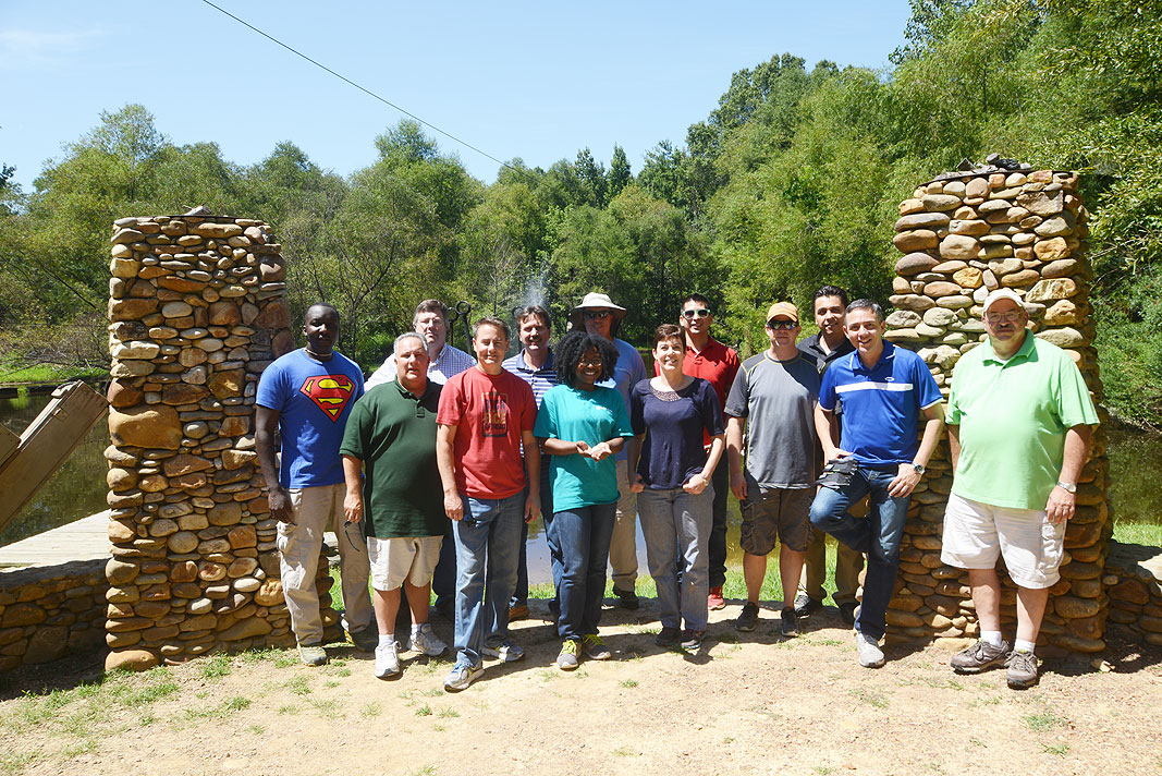 UTC at Xtreeme Challenge Team Building Center in Charlotte North Carolina