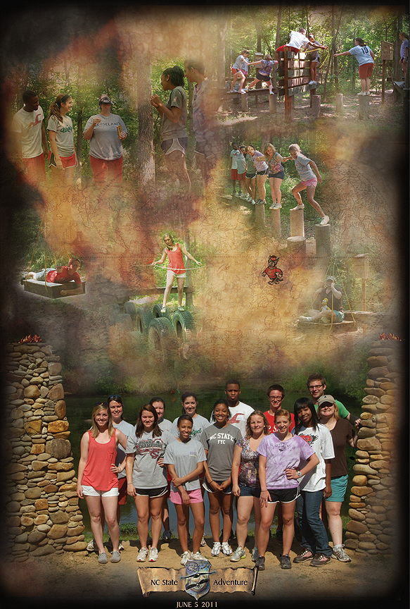 N C State Outdoor Adventure Poster from Xtreeme Challenge in Monroe North Carolina USA