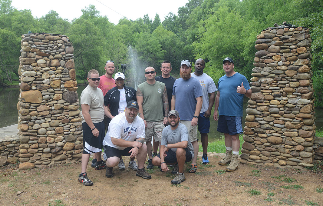 The Wounded Warrior Project at Xtreeme Challenge Private Outdoor Adventure Center in Charlotte North Carolina