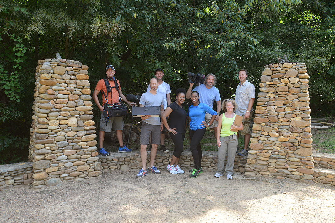HGTV Property Virgins Episode Commitmentphobia at Xtreeme Challenge Team Building Center in Charlotte North Carolina