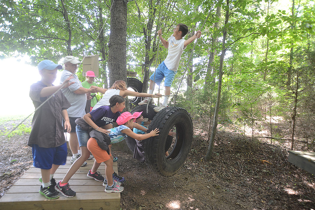 Church Youth Group programs at Xtreeme Challenge private center in Monroe North Carolina