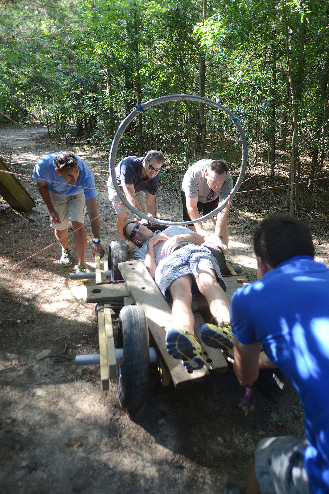 Satair Airbus at Xtreeme Challenge Private Teambuilding Event Center in Charlotte North Carolin