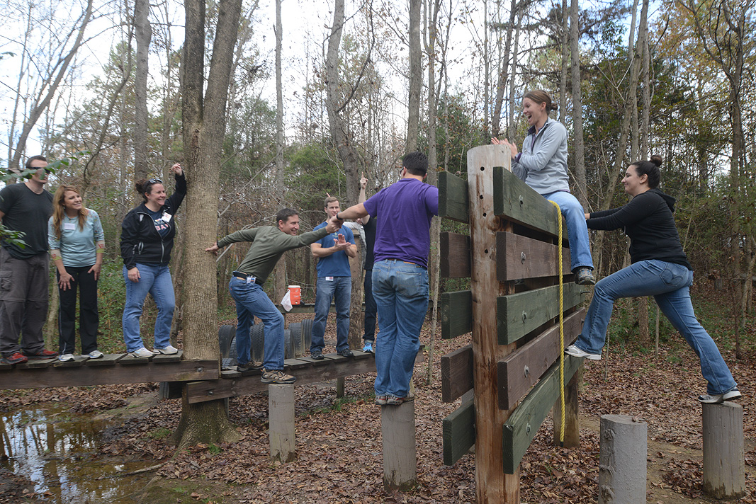 Charlotte Regional Visitors Authority Team Building Program at Xtreeme Challenge