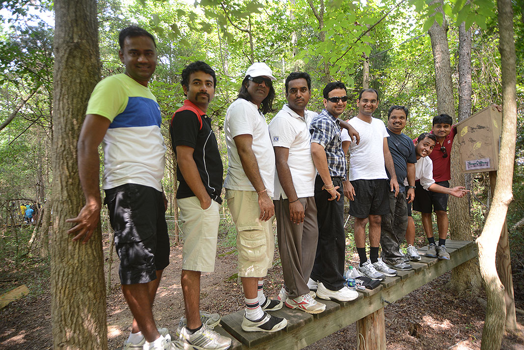 Synechron Team Building Program at Xtreeme Challenge in Charlotte North Carolina