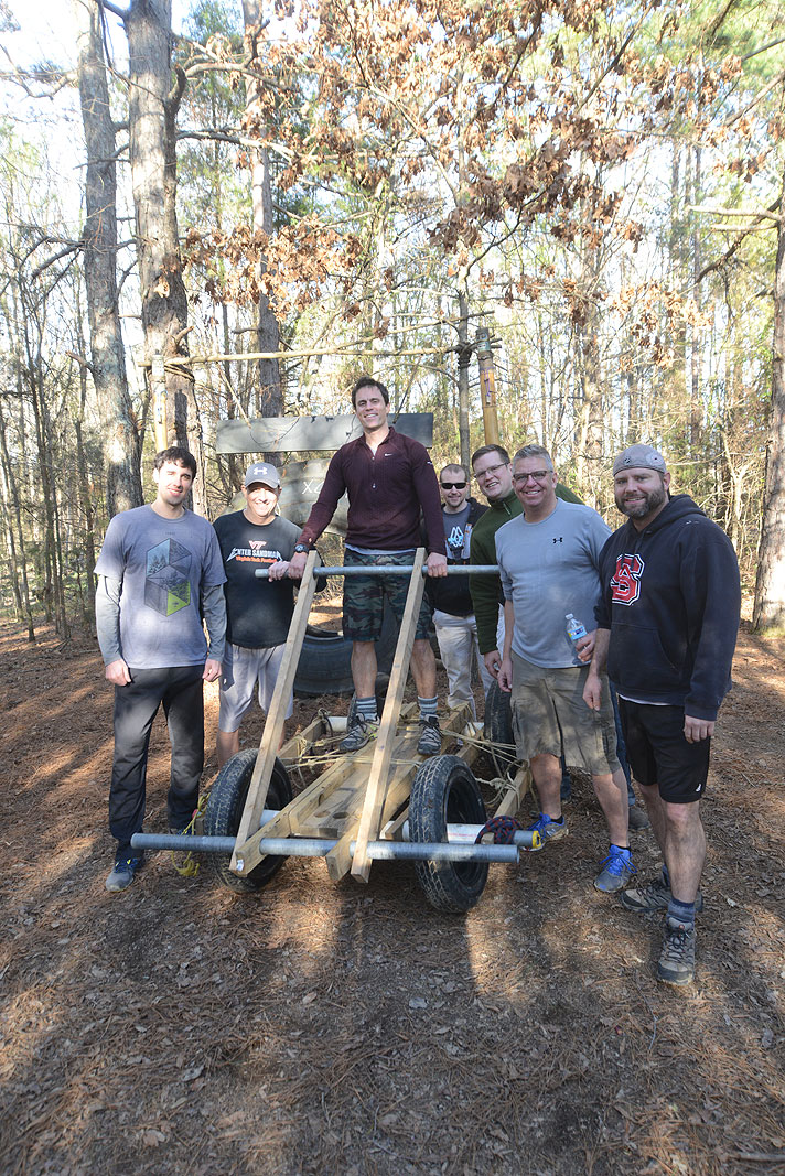 Ripani Bachelor Party Feb 7-8 2015 Xtreeme Challenge Outdoor Adventure Center Charlotte North Carolina