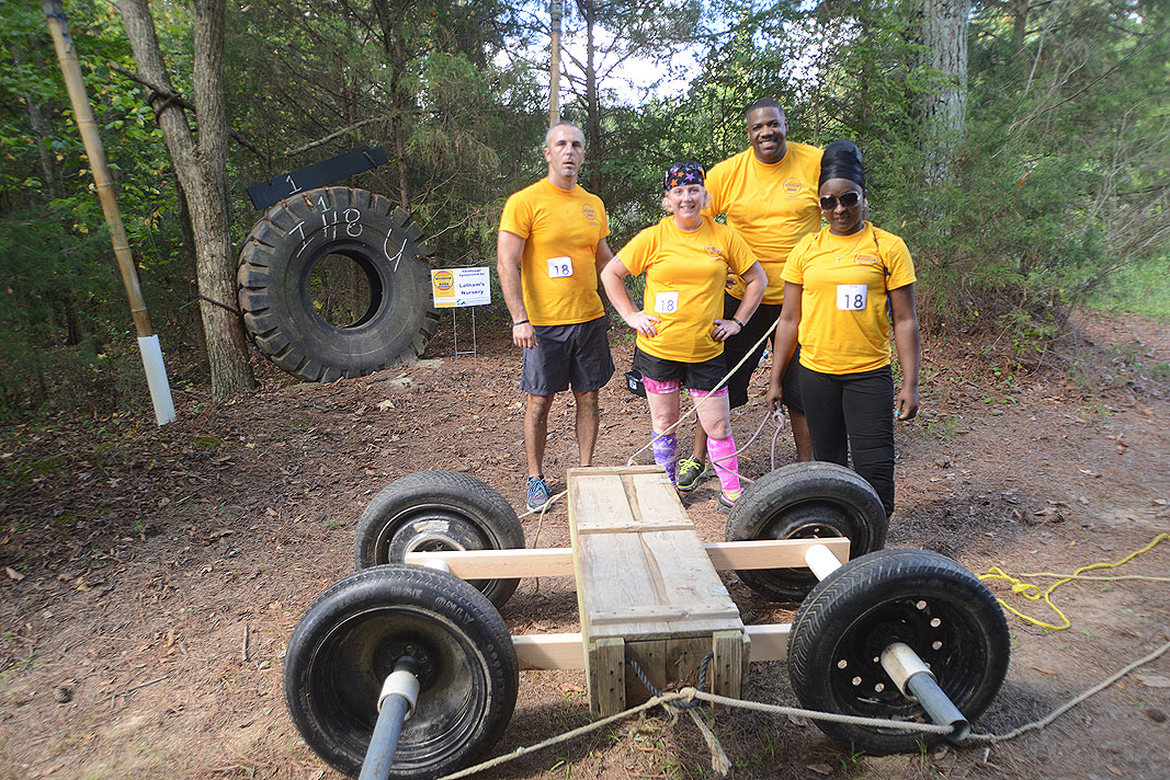 HealthQuest Union County Amazing Charity Race at Xtreeme Challenge Center in Monroe North Carolina
