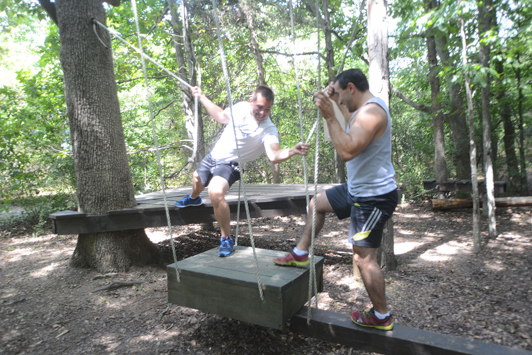Bachelor Party at Xtreeme Challenge Adventure Center in Monroe North Carolina