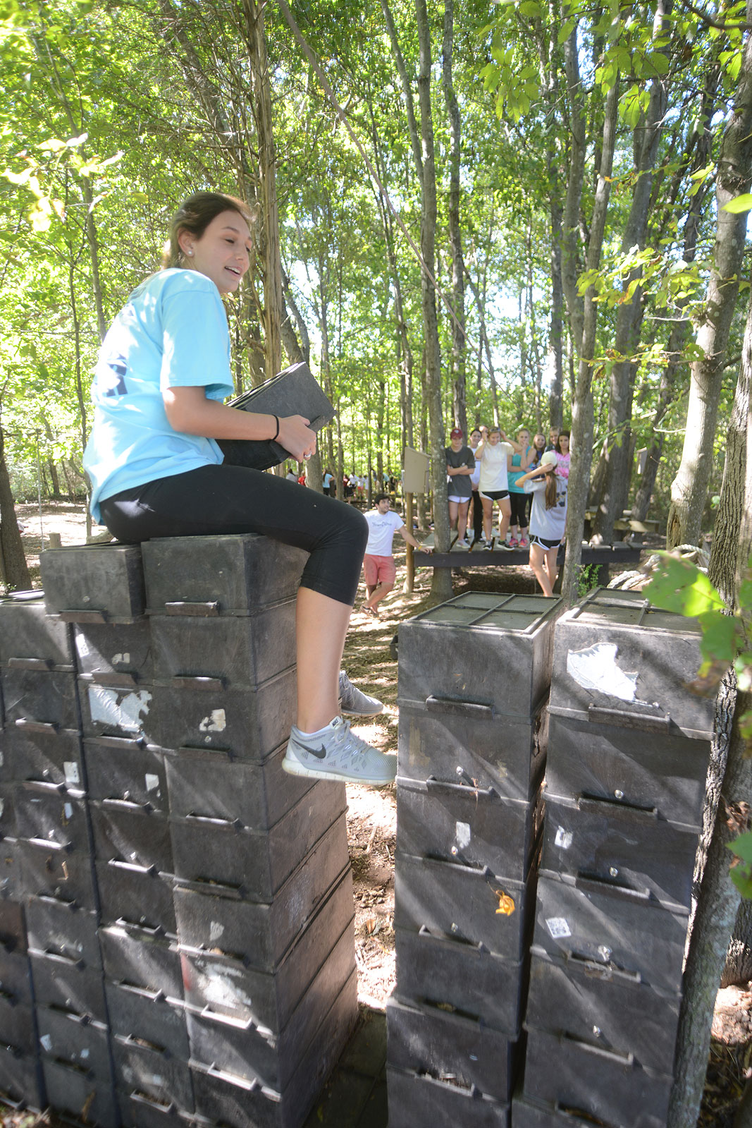 Kappa Kappa Gamma University of South Carolina at Xtreeme Challenge in Charlotte North Carolina