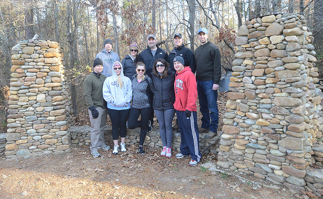 DNJ Mortgage Perry Team at Xtreeme Challenge Team Building Center in Charlotte North Carolina