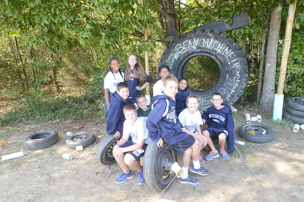 Educational Field Trip at Xtreeme Challenge in Monroe North Carolina with Weddington Middle School 6th Grade Class