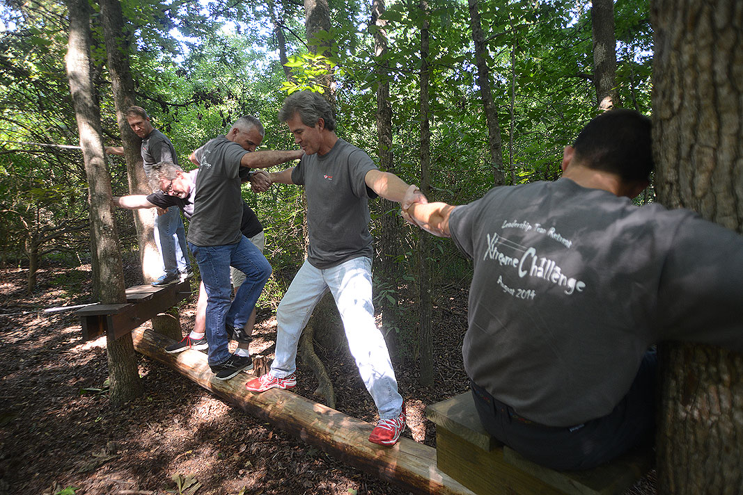 Linet Americas at Xtreeme Challenge Private Team Building Center in Charlotte North Carolina