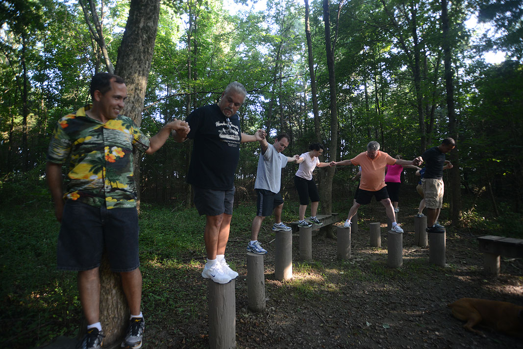 Steritech OOF Team building program at Xtreeme Challenge in Charlotte North Carolina 2013