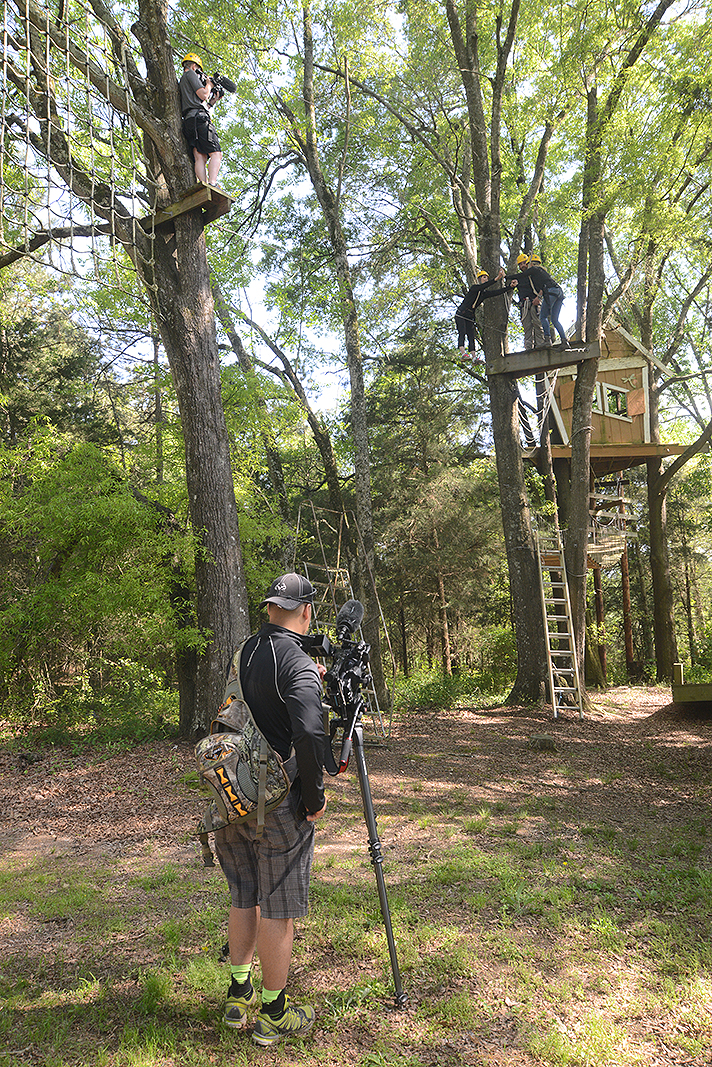 "The Outdoor Channel on location at Xtreeme Channel ""Limitless with Theresa Vail"" Ms Kansas 2013"