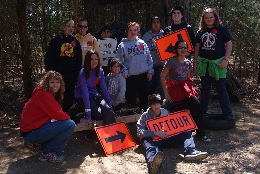 Xtreeme Challenge Field Trip for Boiling Springs 7th grade class