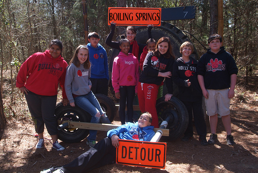 Boiling Springs Middle School Field Trip at XC
