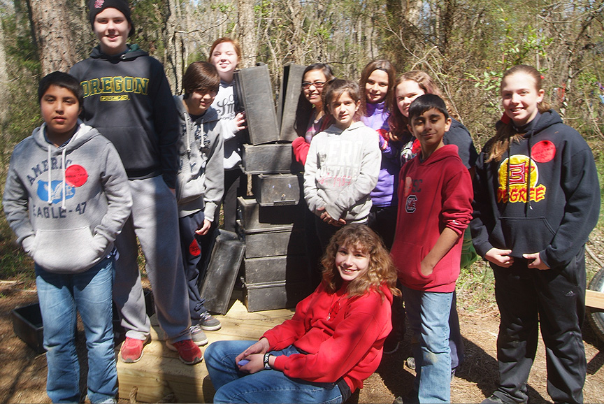 Boiling Springs Field Trip at Xtreeme Challenge