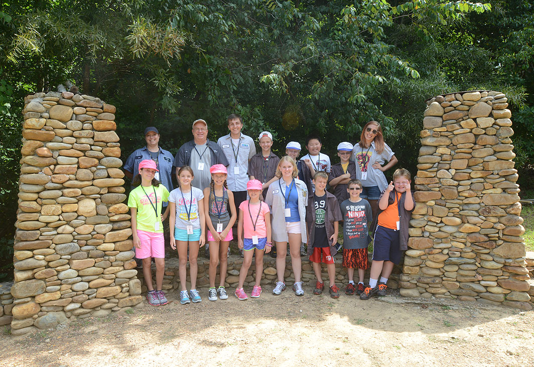 Calvary Lutheran Adventure Camp at Xtreeme Challenge in Monroe North Carolina