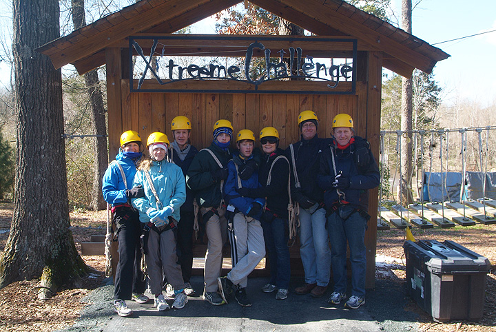 Family Outdoor Adventure Fun at Xtreeme Challenge in Monroe North Carolina