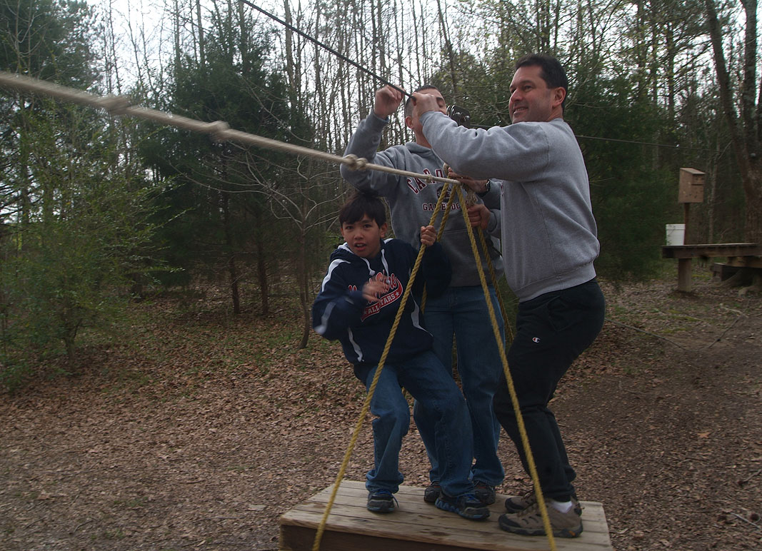 Family outings at Xtreeme Challenge Adventure Center in Charlotte North Carolina