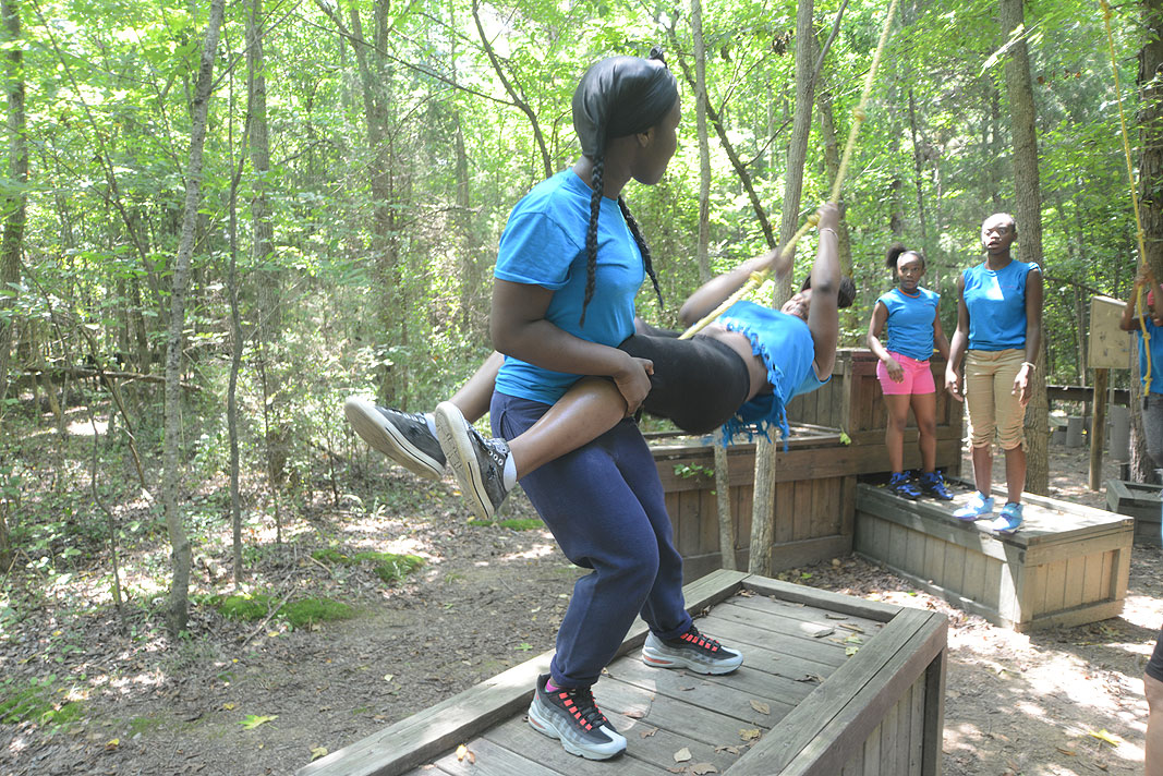 Girlfriends- The Children's Council Lancaster South Carolina at Xtreeme Challenge Team Building Center Monroe NC