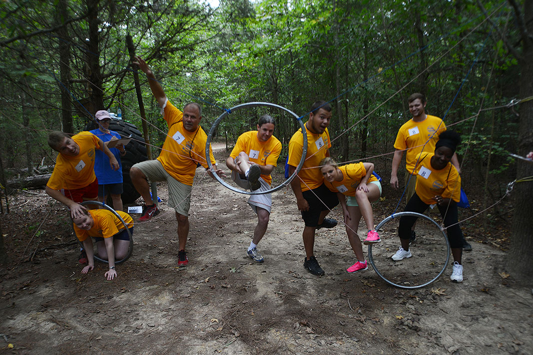 HealthQuest Amazing Charity Challenge 2015 at Xtreeme Challenge Team Building Center in Monroe NC
