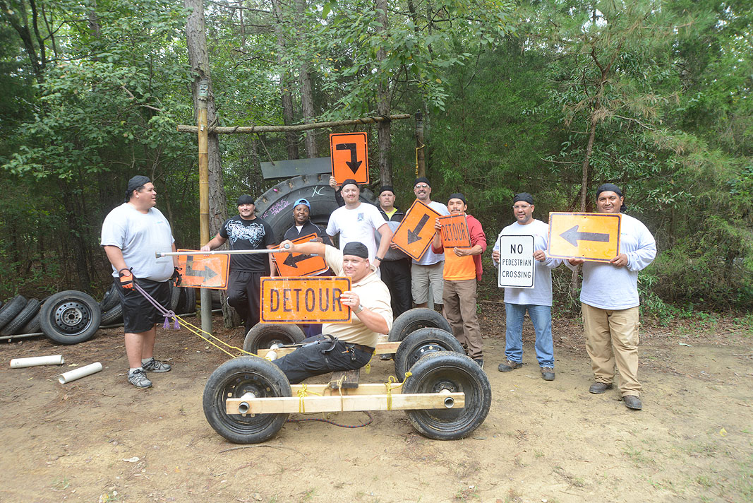 HEPACO Team Building Program at Xtreeme Challenge Outdoor Adventure Center in Monroe North Carolina