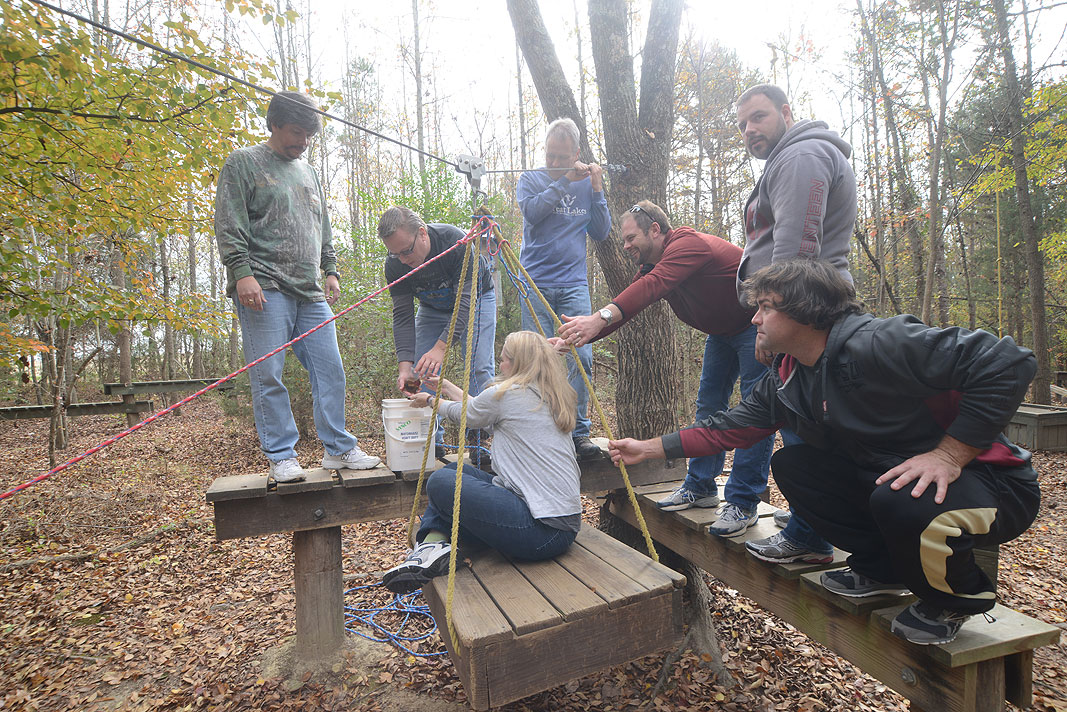 Internetwork Engineering at Xtreeme Challenge Team Building Center in Monroe North Carolina