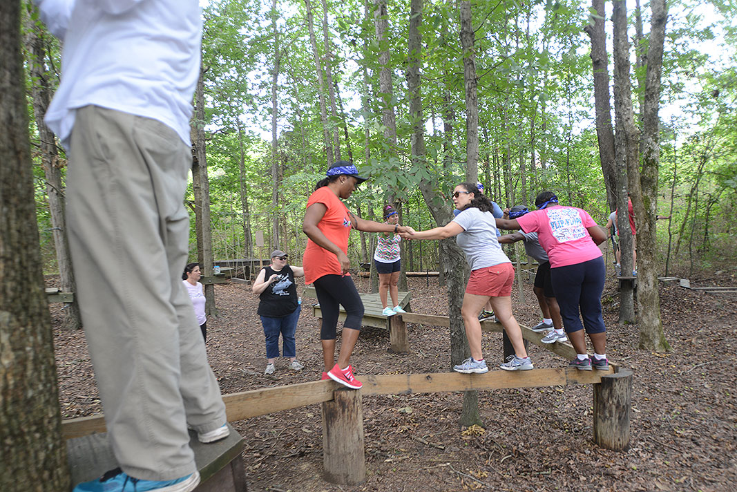 IRMO Middle School Leadership Retreat at Xtreeme Challenge in Monroe North Carolina