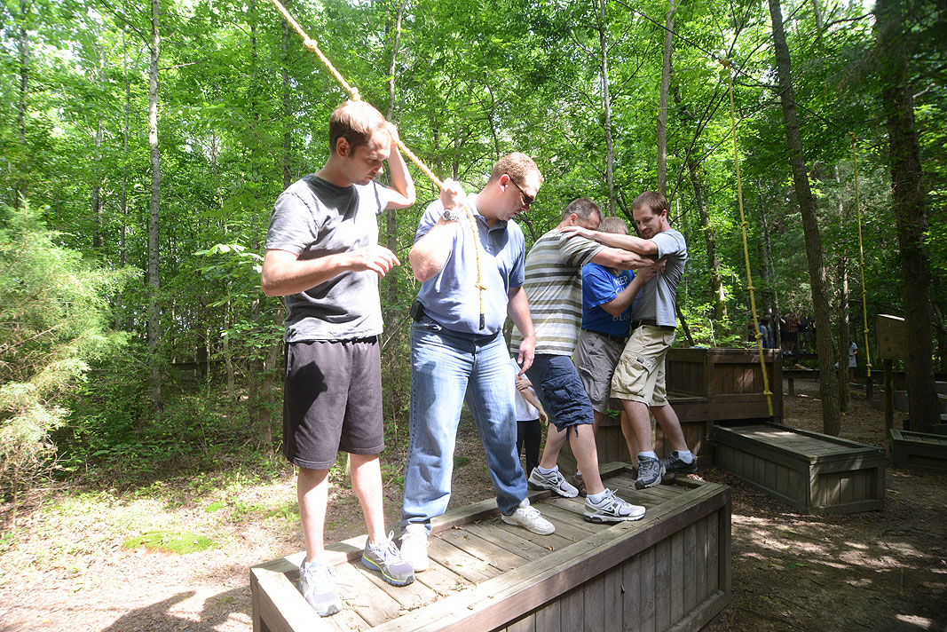 Lending Tree Team Building Program at Xtreeme Challenge in Charlotte North Carolina