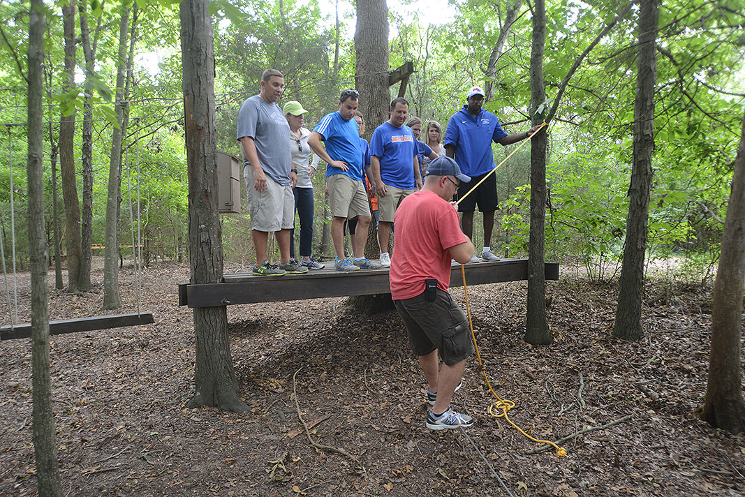 Marvin Ridge Middle School Team Builder at Xtreeme Challenge in Monroe Nortrh Carolina