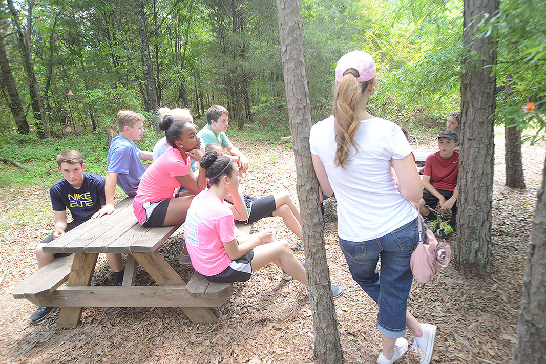 Metrolina Christian Academy at Xtreeme Challenge Educational Field Trip Facility in Monroe North Carolina