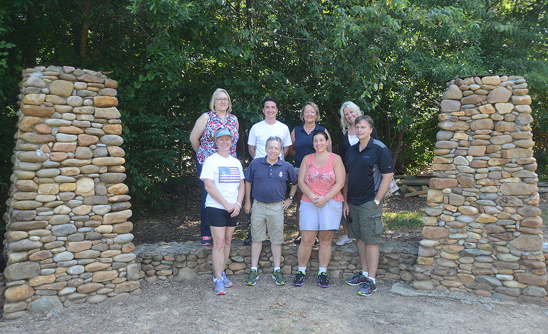 McKesson Offsite Team Builder at Xtreeme Challenge in Charlotte North Carolina