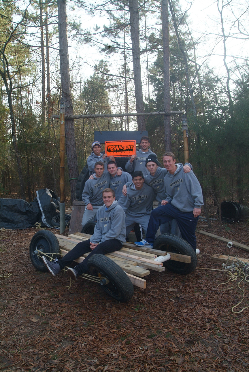 Outdoor Adventure Trail with Wingate University Mens Tennis Team 2013