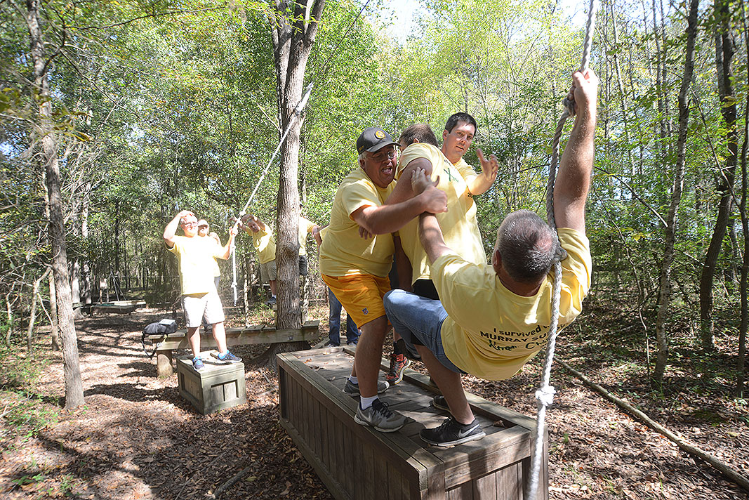 Murray Supply at Xtreeme Challenge for a Private Off Site Team Building Program
