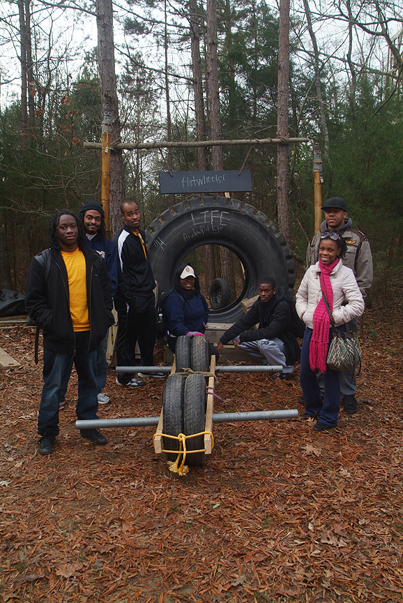 Engineered for smooth riding by the N C A&T RA's at Xtreeme Challenge