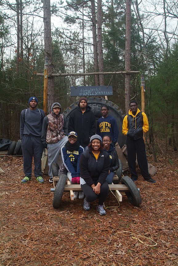 Teams from N C A& T State University build proto type vehicles for NASA Mars 2013 mission at Xtreeme Challenge