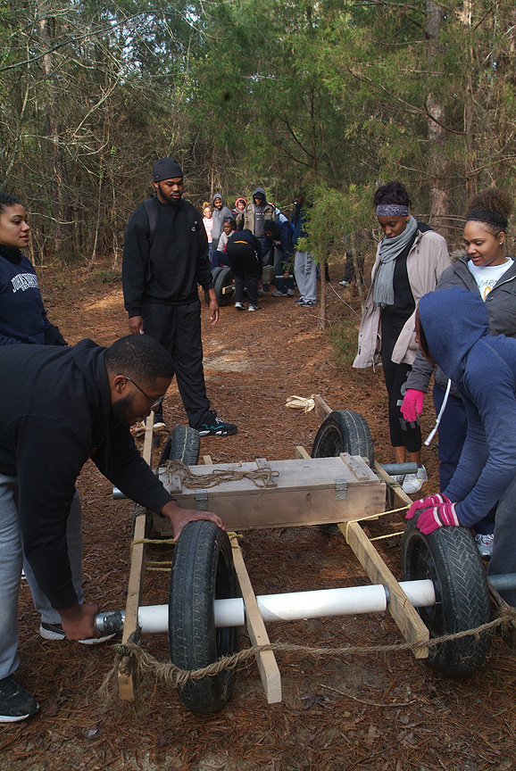 Trail testing one of a kind forms of transportation by North Carolina A&T State University