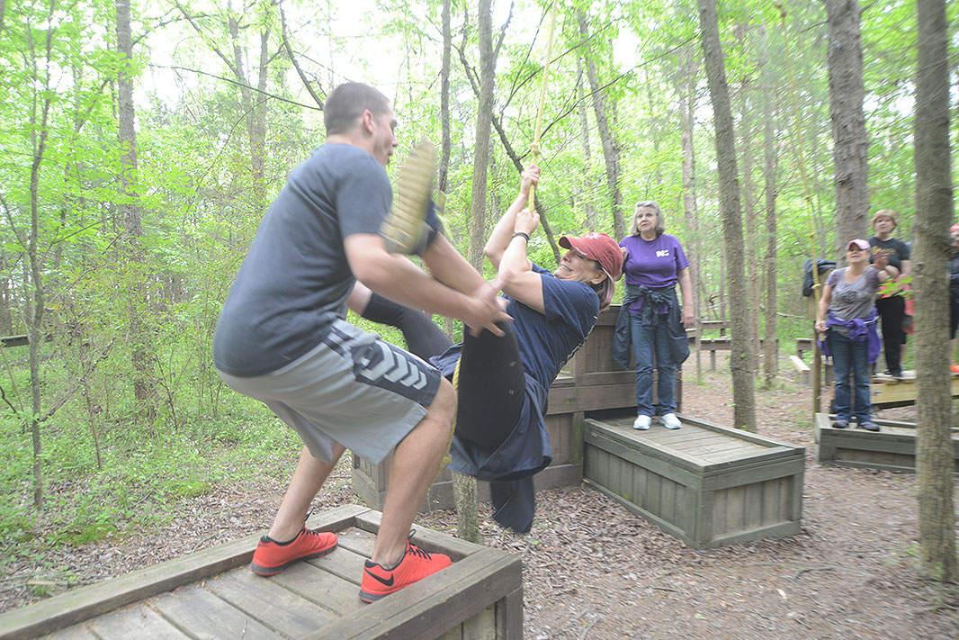 Novant Health at Xtreeme Challenge Team Building Center in Monroe North Carolina