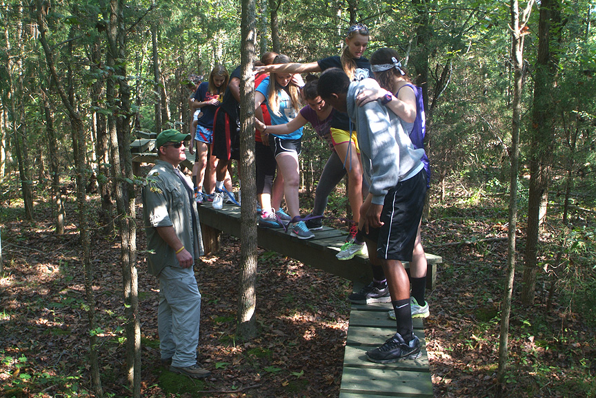 Outdoor Adventure and Team Building for High Schools in North and South Carolina at Xtreeme Challenge