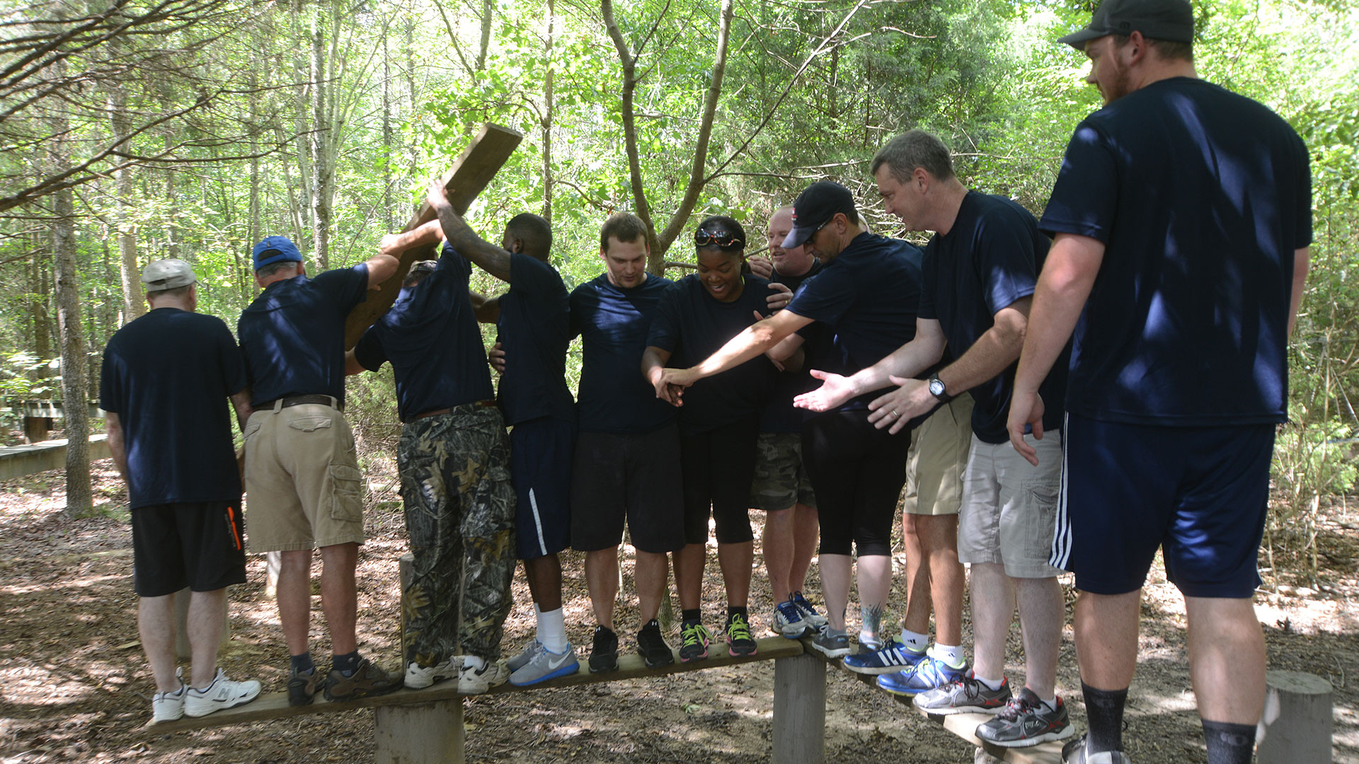 Perdue Foods at Xtreeme Challenge Team Building Center in Monroe North Carolina