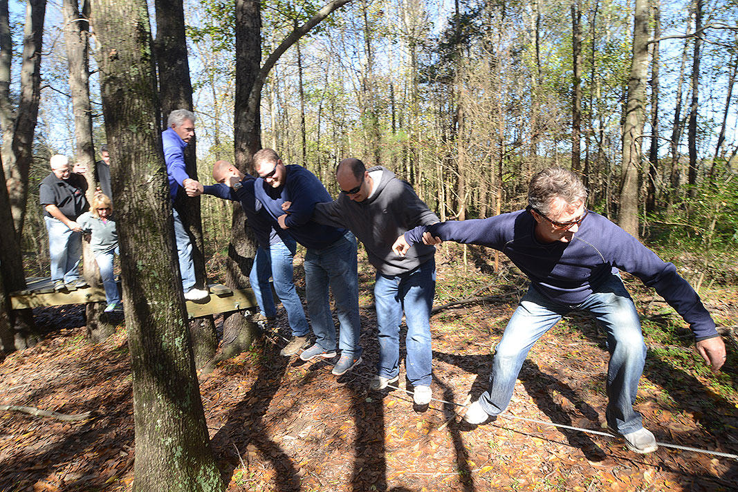 Sanofi Team Building Program at Xtreeme Challenge in Monroe North Carolina