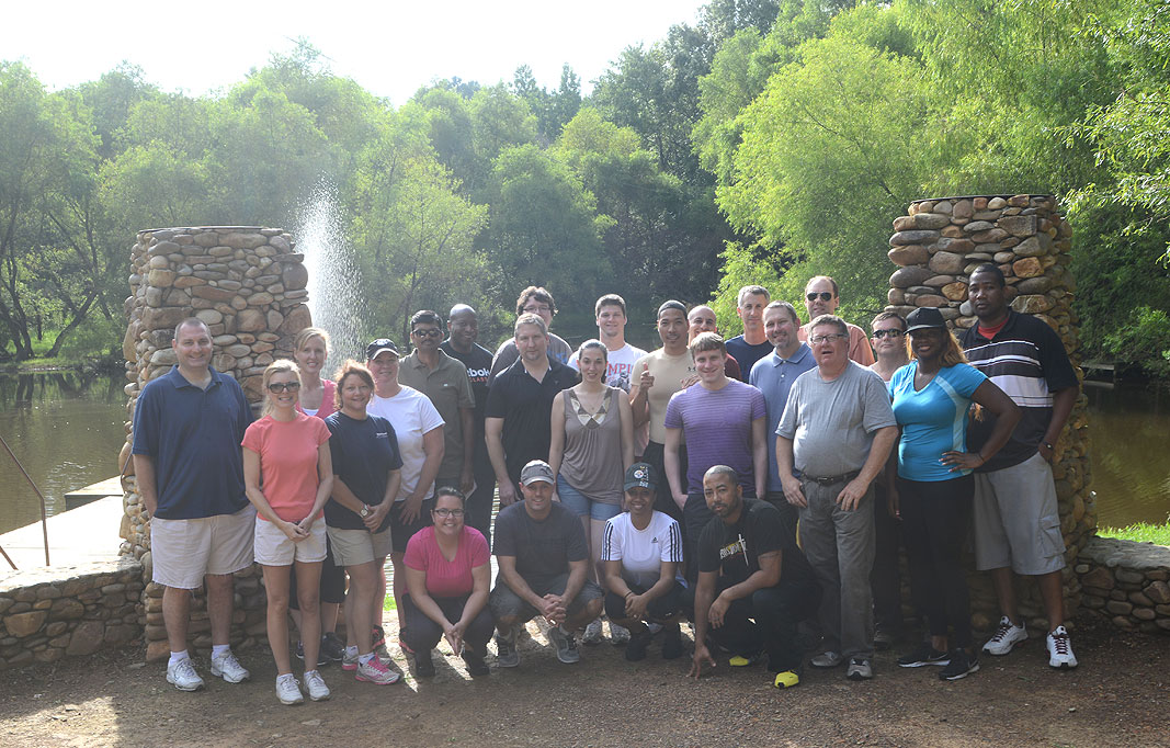 Steritech IT Group at Xtreeme Challenge Team Building Center for North and South Carolina