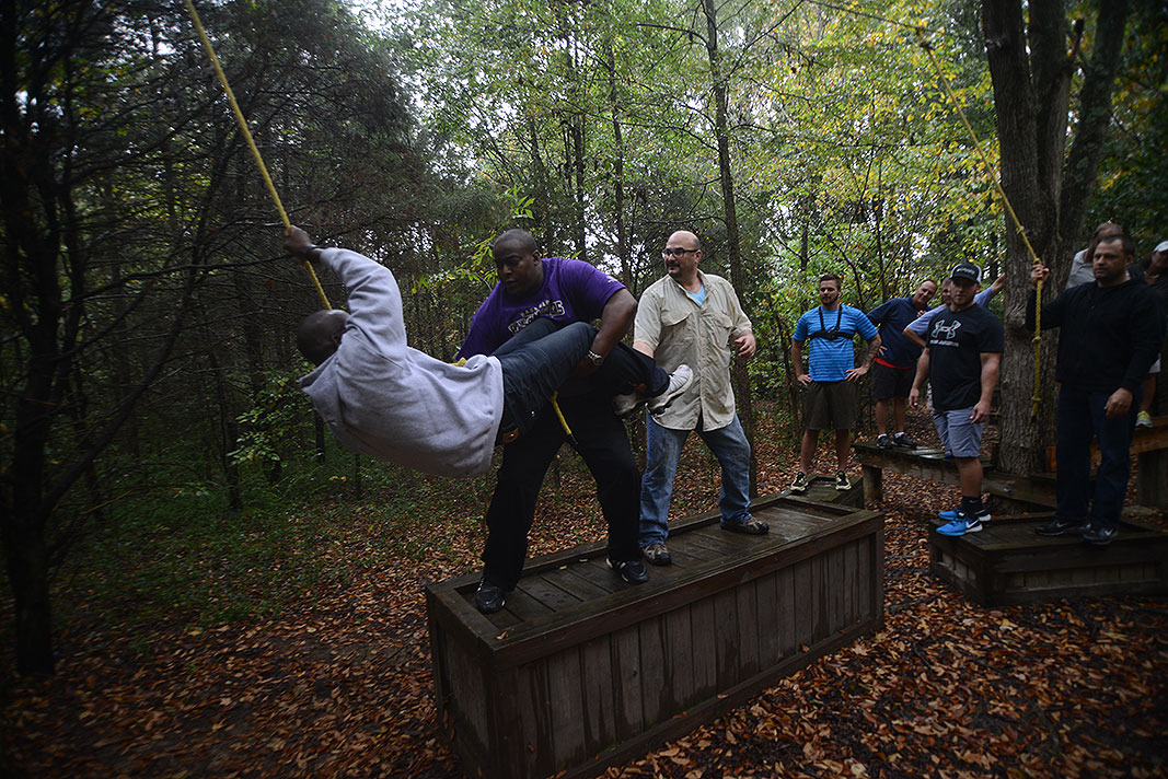 Suddath at Xtreeme Challenge Outdoor Adventure Team Building Center in Charlotte North Carolina