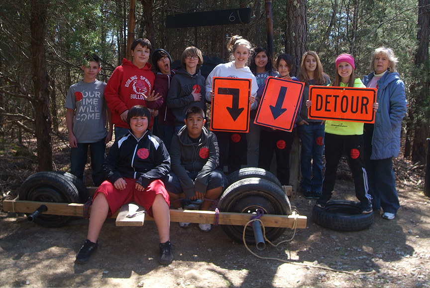 The Adventure Trails from Xtreeme Challenge Field Trip Center