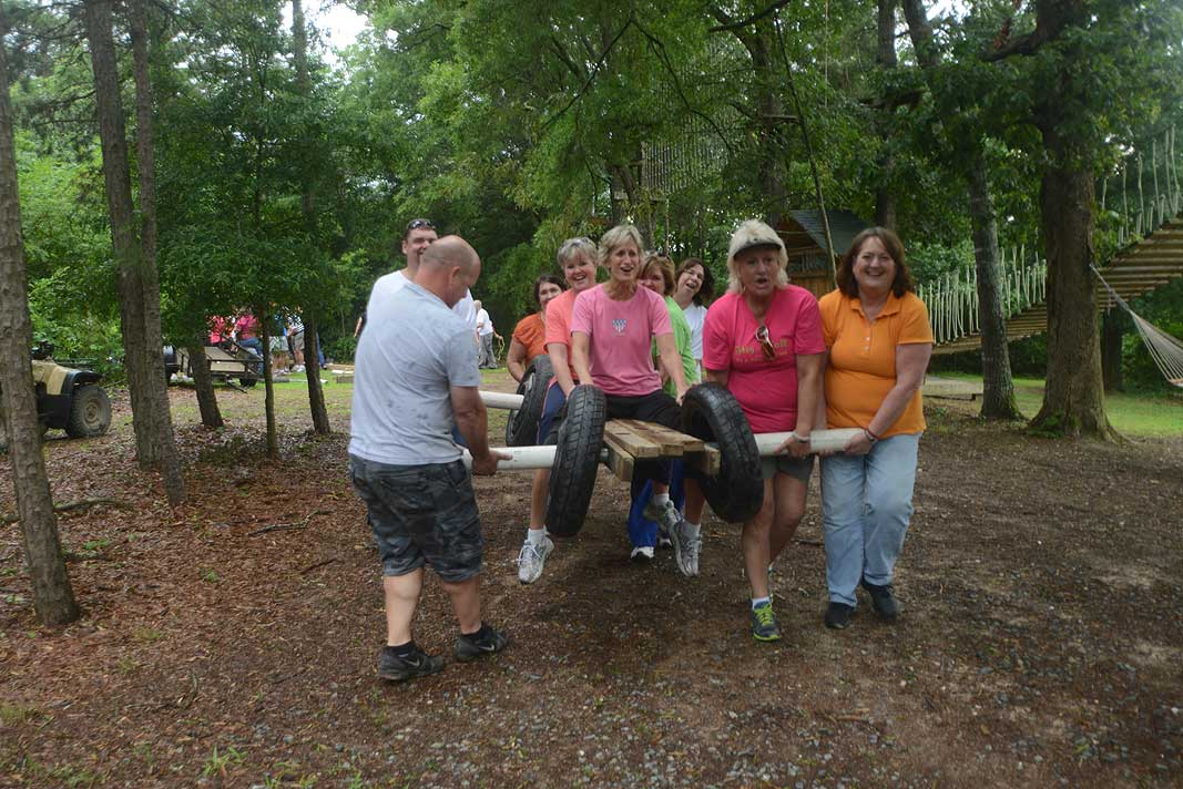 CMC Union Retreat Program at Xtreeme Challenge In Monroe North Carolina