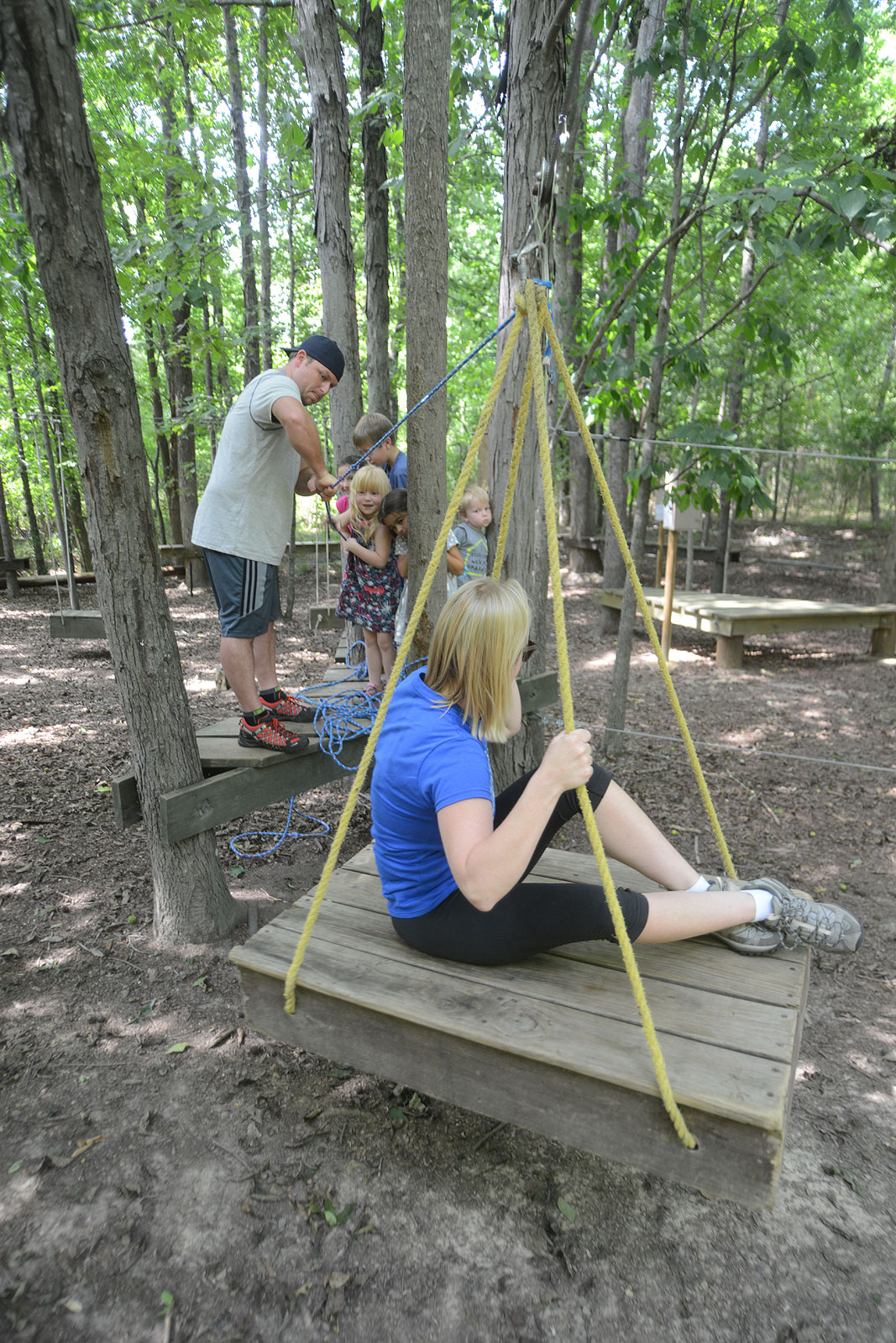 Valentine Family Outdoor Adventure and Fun at Xtreeme Challenge in Charlotte North Carolina