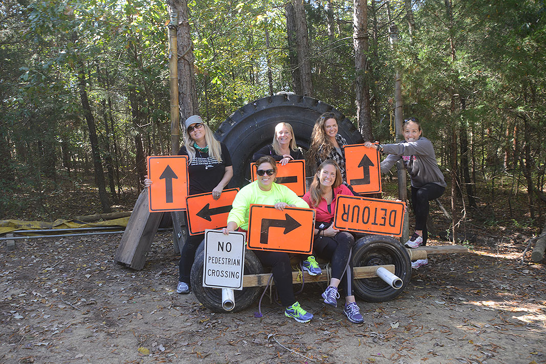 Warrior Women Weekend v.8 at Xtreeme Challenge Outdoor Adventure Center in Charlotte North Carolina